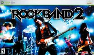 Rock Band 2 Box Art