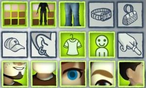 Xbox 360 Avatar Customization Options