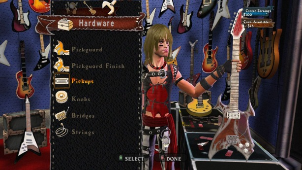 Guitar Hero World Tour Character Creator