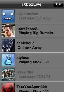 Xbox Live iPhone App