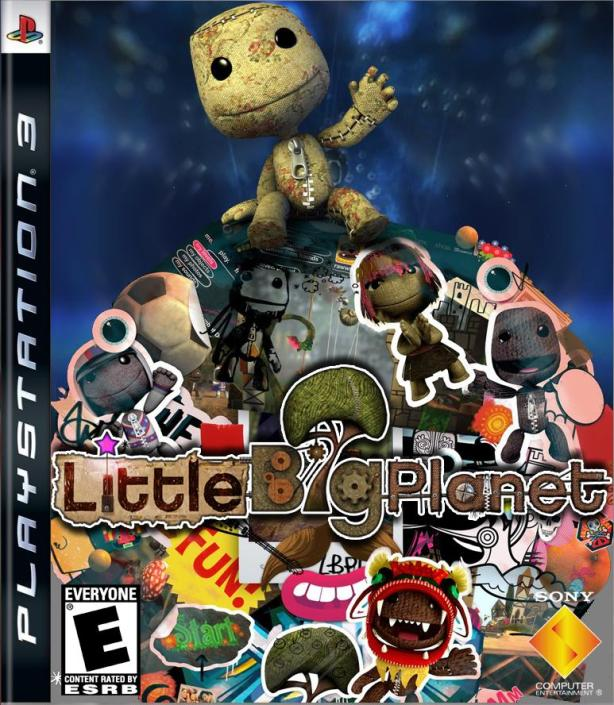 Little Big Planet Box Art