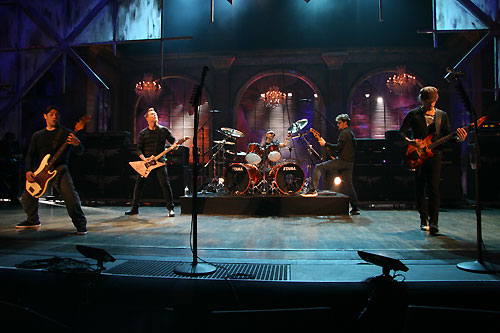 Metallica LIVE at the Rock and Roll Hall of Fame